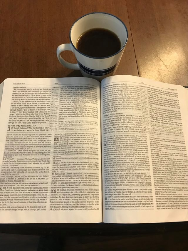 Bible & Coffee-An Aid to Help With Bible Study